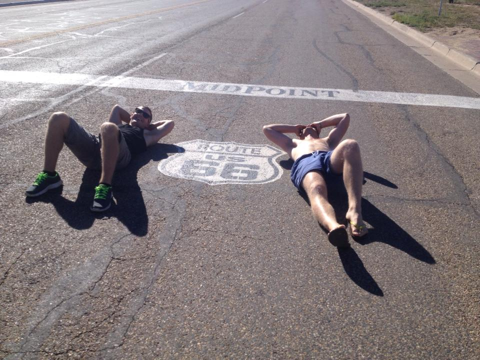 route 66 lay