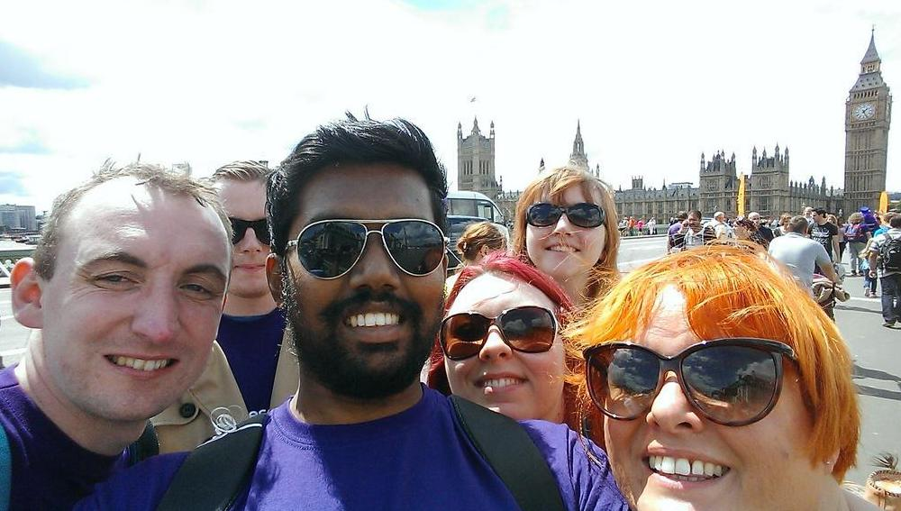 kruk bridges selfie 1