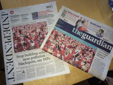 santa newspaper