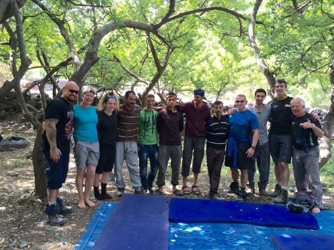 group photo toubkal